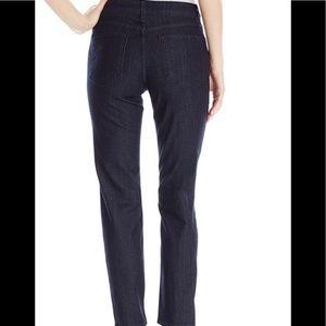 NYDJ | Clarissa ankle jeans dark wash